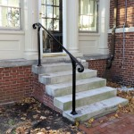 New railing on historic property