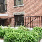 New Railings on Historic House