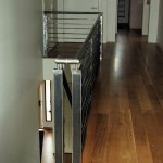 Contoured steel rails, mill finish