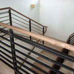 Steel railing, Mill finish with protective coating
