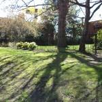 The fence after Restoration