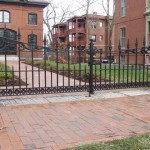 Restoration of a historic carriage gate