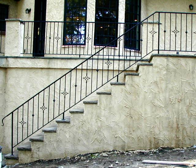 Stair And Deck Railings, Forged Steel