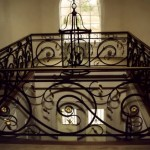 Balcony Railing, Forged steel