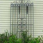Trellis, forged steel