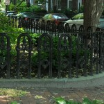 Cast Iron Fence recreated from existing panels