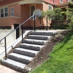New railing on an historic property