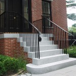 New Railings on Historic House