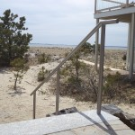 Stainless Steel Beach House Railing