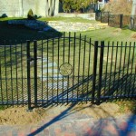 Gate, forged steel