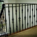Railing, forged steel