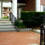 Seamless addition to existing Stair railings